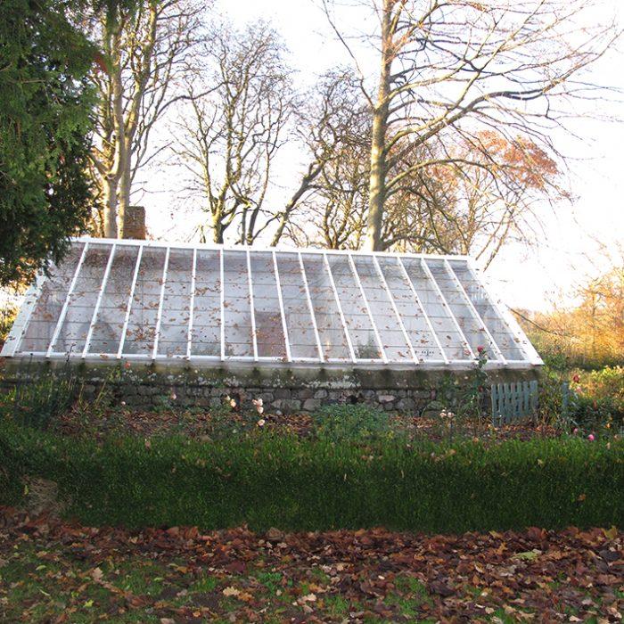 orangeri drivhus hæk greenhouse autumn orangery