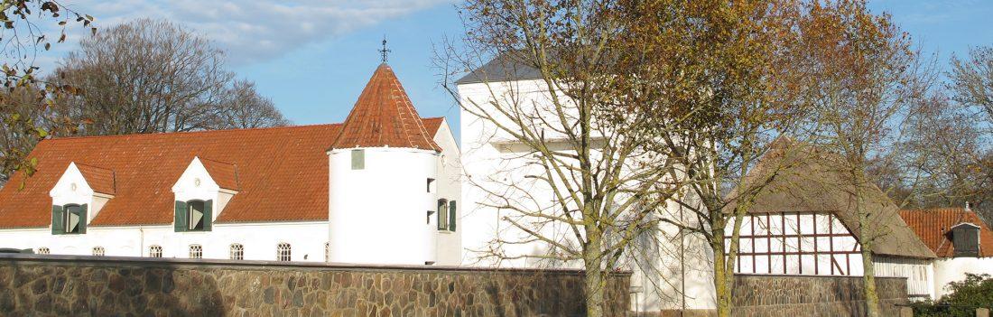 Bygninger gods herregård flintholm, buildings