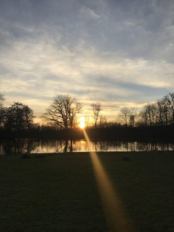 sunset, solnedgang